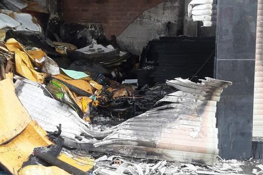 1 trong 7 người mắc kẹt ở vụ cháy nhà tại quận Bình Tân đã tử vong