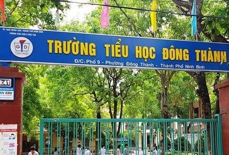 Bắt giam Hiệu trưởng Trường Tiểu học Đông Thành