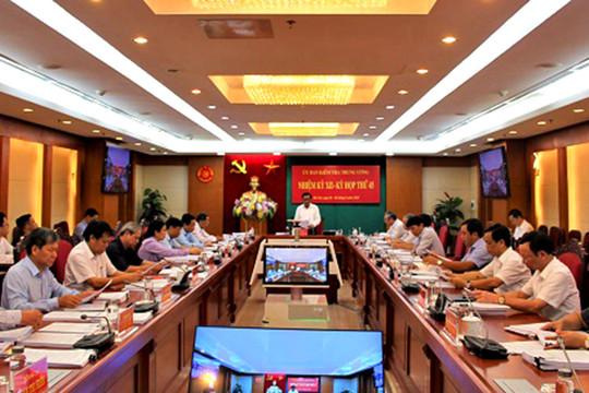 UBKT Trung ương đề nghị xem xét kỷ luật Bí thư; thi hành kỷ luật Chủ tịch UBND tỉnh Quảng Ngãi