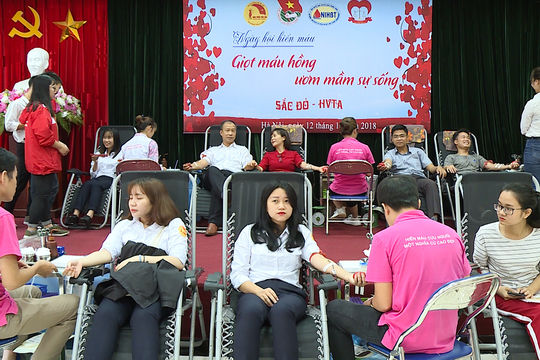 """TANDTC phát động chương trình hiến máu nhân đạo: """"Một giọt máu – triệu tấm lòng năm 2020"""""""