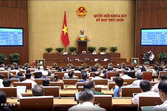 Quốc hội chính thức thông qua Hiệp định EVFTA và EVIPA với gần 95% ĐBQH tán thành
