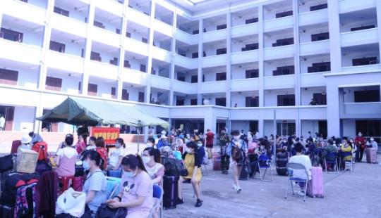 345 công dân về từ Đài Loan hoàn thành cách ly