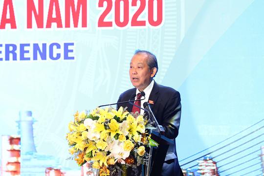 Phó Thủ tướng Trương Hòa Bình dự hội nghị xúc tiến đầu tư tỉnh Thanh Hóa