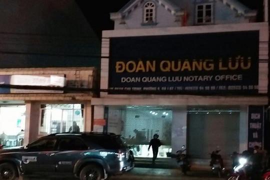 3 cán bộ phòng công chứng số 1 ở Lâm Đồng bị bắt giữ