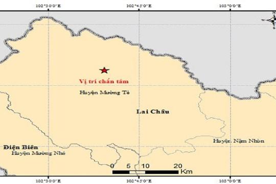 Động đất 4,9 độ richter ở Lai Châu, 4 học sinh bị thương