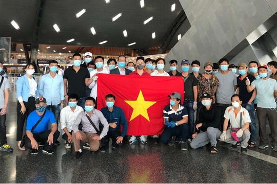 Bamboo Airways đưa 226 công dân Việt Nam từ Kuwait, Qatar, Ai Cập về nước