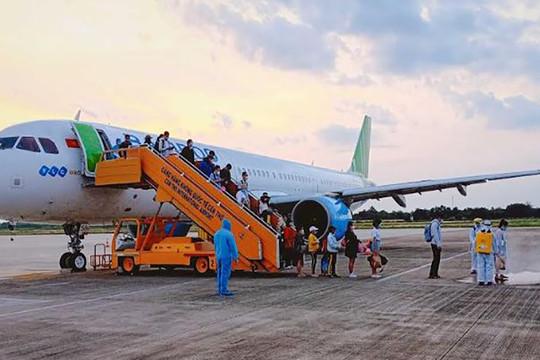 Bamboo Airways tiếp tục đưa 266 công dân Việt Nam tại Kuwait, Ai Cập và Qatar hồi hương ngày 16/6