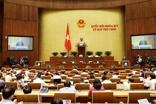 Quốc hội biểu quyết thông qua 4 Luật, Nghị quyết và thảo luận 2 dự án