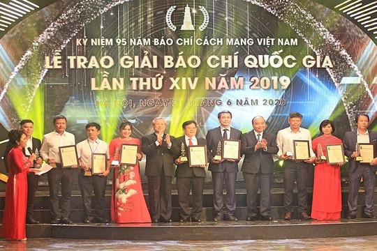 103 tác phẩm báo chí xuất sắc được vinh danh tại Lễ trao Giải Báo chí Quốc gia lần thứ 14