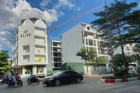 """Vụ việc tranh chấp tại Công ty Kim Anh: Tòa """"cấm dịch chuyển"""" 14 căn nhà tại dự án Phố Wall"""