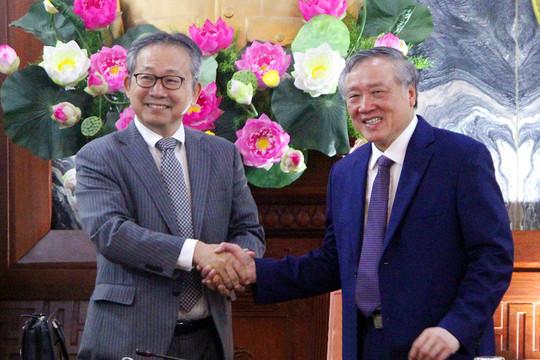 Chánh án TANDTC tiếp xã giao Đại sứ Nhật Bản tại Việt Nam