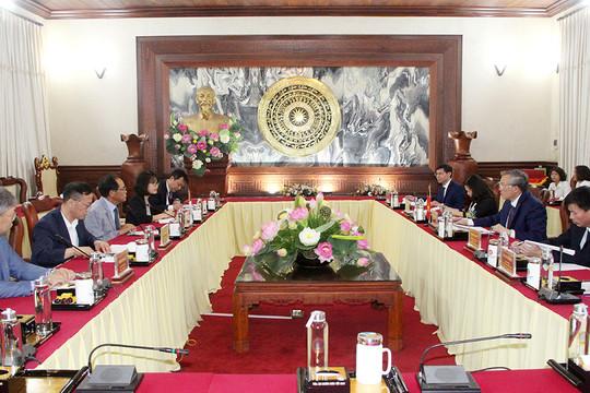 Chánh án TANDTC tiếp xã giao Đại sứ Hàn Quốc tại Việt Nam
