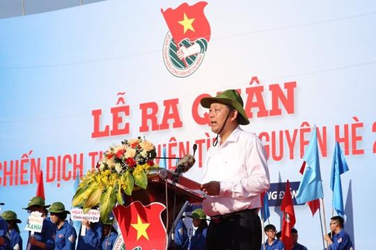 Phó Thủ tướng thường trực dự Lễ ra quân Chiến dịch Thanh niên tình nguyện hè 2020