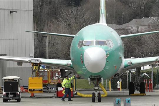 Boeing hoàn tất thử nghiệm dòng máy bay 737 MAX