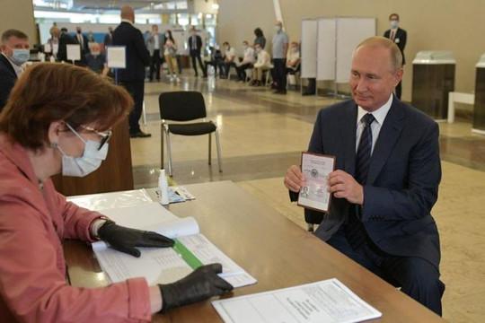 Nga thay đổi Hiến pháp cho phép ông Putin tái tranh cử Tổng thống