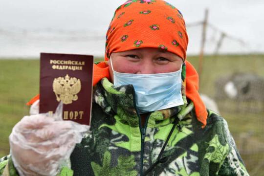 """Khu vực duy nhất nói """"không"""" với Putin trong cuộc bỏ phiếu cho những thay đổi trong hiến pháp"""