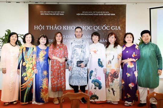 NTK Đỗ Trịnh Hoài Nam đem 'hành trình quảng bá áo dài ra thế giới' tới hội thảo áo dài