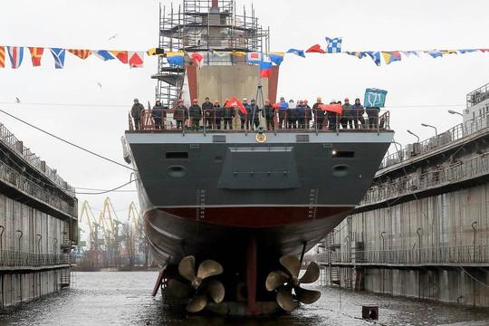 Hải quân Nga tiếp nhận khoảng 40 tàu quân sự các loại vào năm 2020