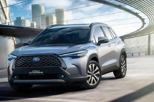 Toyota Corolla Cross sắp về Việt Nam