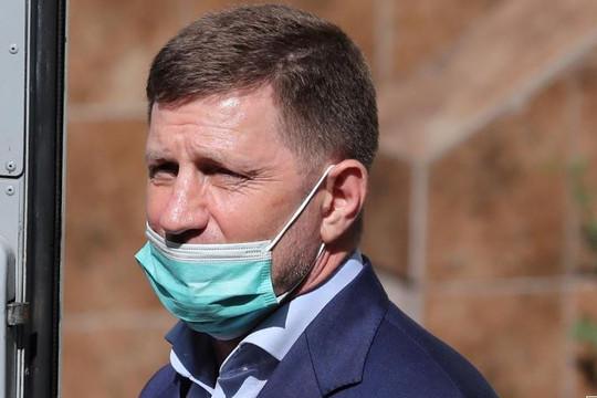 Thành phố Nga tuần hành ủng hộ thống đốc khu vực bị giam giữ