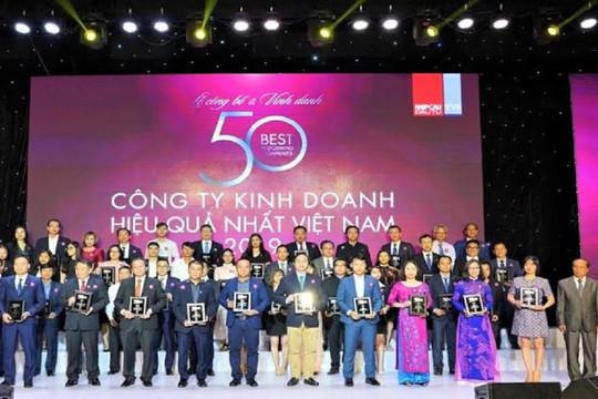 Tập đoàn bất động sản hàng đầu được vinh danh tại giải thưởng top 50 Công ty kinh doanh hiệu quả nhất Việt Nam