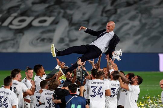 Vô địch La Liga, Zidane tuyên bố bất ngờ về tương lai