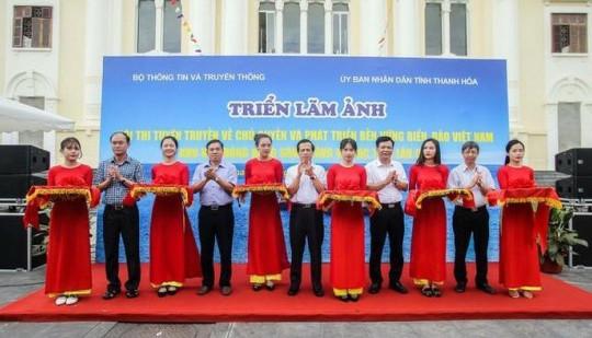 Khai mạc triển lãm ảnh về chủ quyền và phát triển bền vững biển, đảo Việt Nam