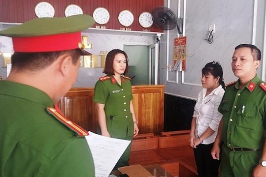 Bắt tạm giam nữ quản lý khách sạn cho con nghiện thuê phòng sử dụng ma túy