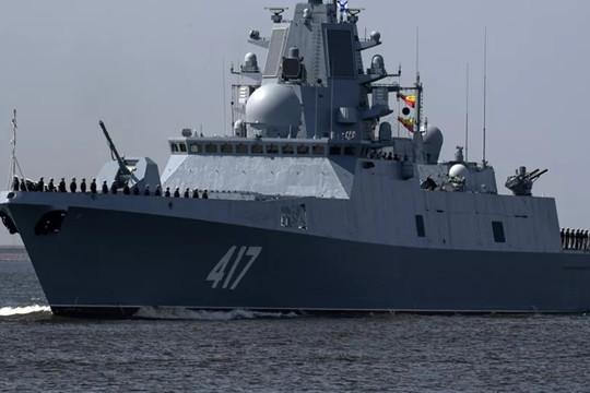Hải quân Nga sẽ tiếp nhận tàu khu trục trang bị vũ khí siêu thanh vào năm 2025-2026