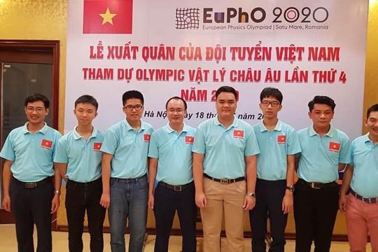 Việt Nam giành 4 huy chương tại Olympic Vật lý Châu Âu 2020