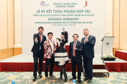 Jessica Minh Anh quảng bá du lịch Việt Nam