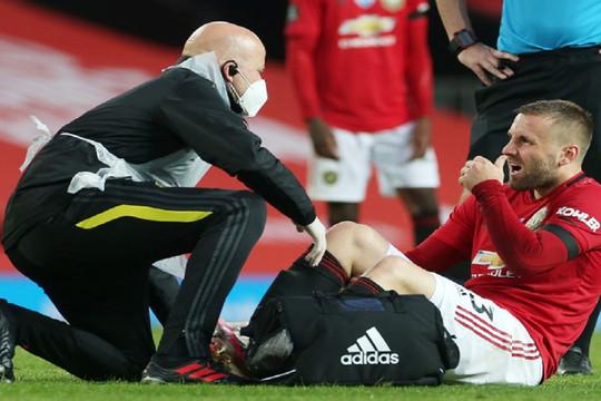 Luke Shaw vắng mặt tại Europa League vì chấn thương