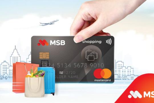 Đăng ký thẻ tín dụng MSB siêu miễn phí, trải nghiệm chuỗi tính năng miễn phí hấp dẫn