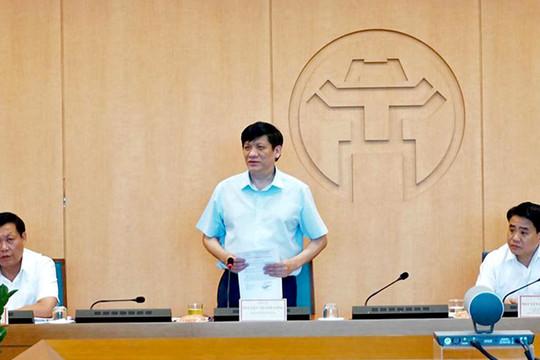 Quyền Bộ trưởng Bộ Y tế : 4 bệnh viện sẽ hỗ trợ Hà Nội xét nghiệm PCR ngay trong chiều 8/8