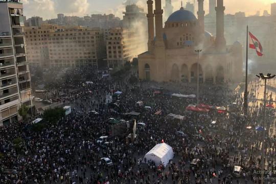 Quân đội Liban bác bỏ cáo buộc bắn vào người biểu tình ở Beirut