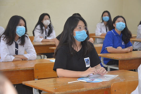 Đề thi môn tiếng Anh đòi hỏi thí sinh phải có vốn từ vựng phong phú