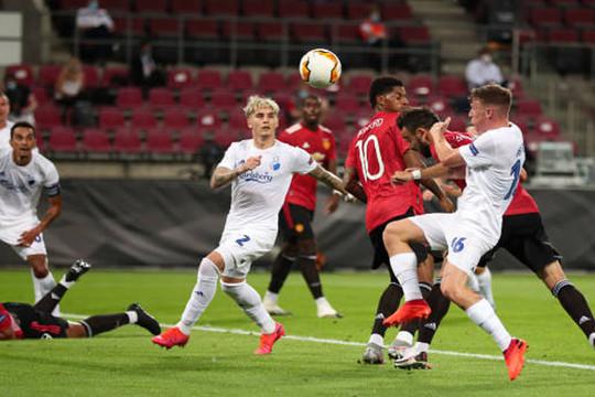 Man Utd vào bán kết Europa League với tỉ số tối thiểu do công của Bruno Fernandes