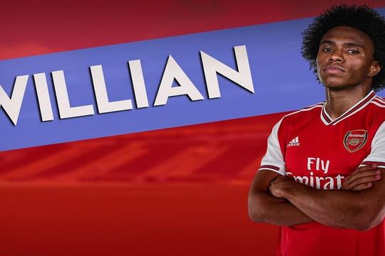 Chính thức: Arsenal chiêu mộ thành công Willian
