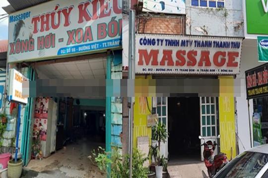 """Phát hiện nhiều cơ sở masage cho nhân viên """"tắm tiên"""", kích dục cho khách"""
