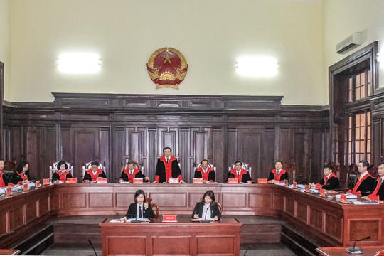 Một số vấn đề nghiệp vụ từ các phiên tòa tháng 6/2020 của Hội đồng Thẩm phán TANDTC
