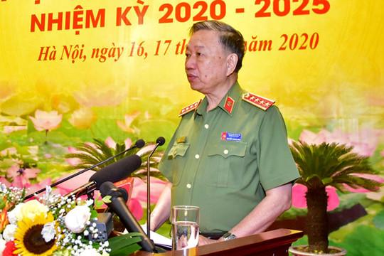 Bộ trưởng Bộ Công an: An ninh trật tự của Thủ đô phải được thực hiện ở mức cao nhất
