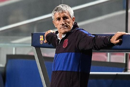 """""""Người cũ"""" xuất hiện ở Barcelona, sẵn sàng thay thế Setien"""