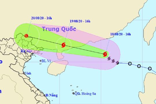 Bão số 4 gây gió mạnh và lốc xoáy trên Biển Đông