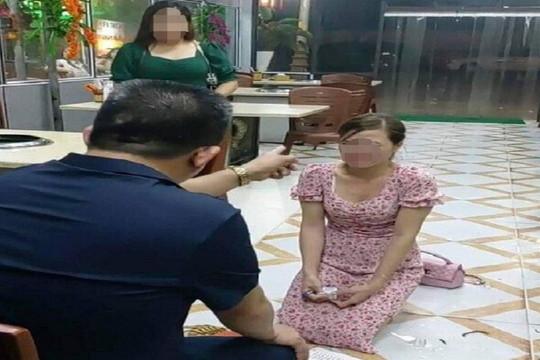 Điều tra vụ chủ quán nướng bắt cô gái quỳ lạy vì chê đồ ăn mất vệ sinh