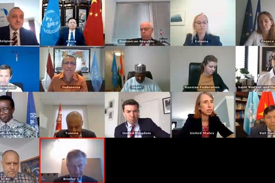 Hội đồng Bảo an quan ngại về tình hình Syria, lên án vụ đảo chính tại Mali