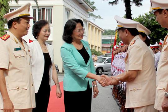 Phó Chủ tịch nước Đặng Thị Ngọc Thịnh: Xây dựng Công an Yên Bái trong sạch vững mạnh