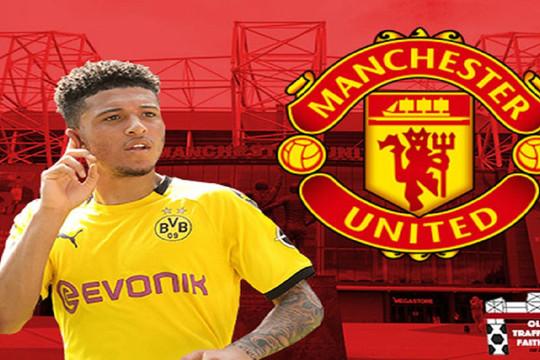 Bước ngoặt khiến vụ Sancho tới Man Utd đi vào bế tắc