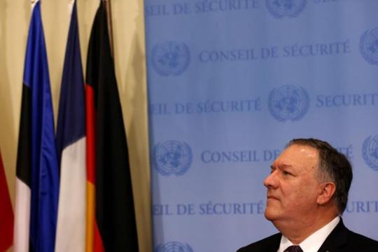 13 trong số 15 thành viên Hội đồng Bảo an LHQ phản đối việc Mỹ thúc đẩy trừng phạt Iran