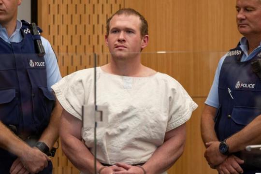 Kẻ xả súng tại nhà thờ Hồi giáo ở New Zealand đến Christchurch để nghe tuyên án