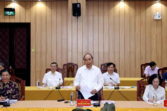 Bộ Chính trị đã làm việc với 15/67 đảng bộ trực thuộc Trung ương